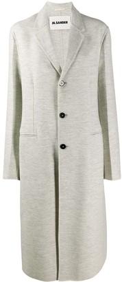 Jil Sander Classic Single-Breasted Coat