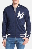 Mitchell & Ness Men's 'Authentic Bp - New York Yankees' Double Knit Baseball Jacket