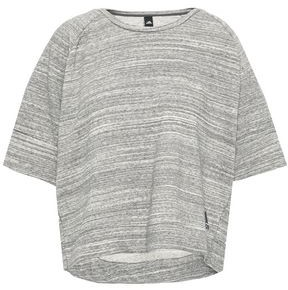 adidas Melange French Cotton-blend Terry Top