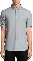 AllSaints Redondo Half Sleeve Slim Fit Button-Down Shirt