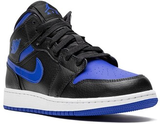 Nike Kids Air Jordan 1 Mid GS black royal