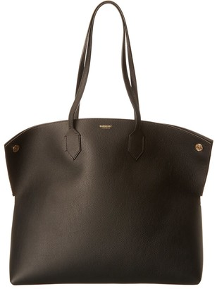Burberry Large Leather Tote