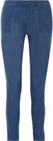 Majestic Linen straight-leg track pants