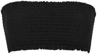 Pilyq Midnight Black Bandeau Bikini Top