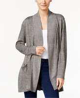 Style&Co. Style & Co. Petite Melange Open-Front Cozy Cardigan, Only at Macy's
