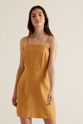 Seed Heritage Linen Blend Dress