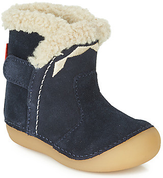 Kickers SOFUR girls's High Boots in Blue