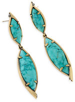 Kendra Scott Maisey Hourglass Statement Earrings