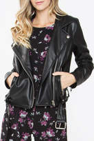 Sugar Lips Black Leather Jacket