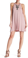 Angie High Neck Knit Swing Dress