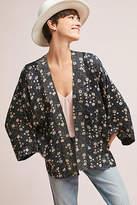 Anthropologie Danielle Floral Kimono