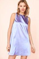 Kimchi & Blue Kimchi Blue Carmine Satin Frock Mini Dress