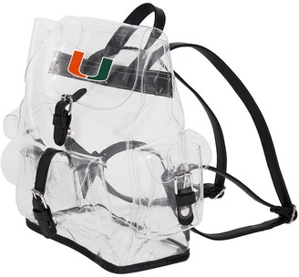 Northwest Company The Miami Hurricanes Lucia Clear Backpack