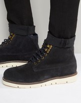 Armani Jeans Suede Boots