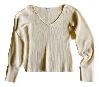 Reformation White Cashmere Knitwear