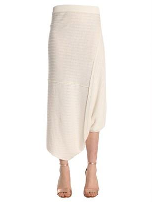 J.W.Anderson Asymmetric Draped Skirt