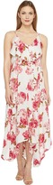 Brigitte Bailey Kaiya Maxi Dress with Lace-Up Side Women's Dress