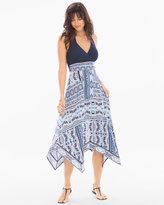 Soma Intimates Halter Scarf Hem Midi Dress