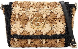 Gucci Gg Marmont Flower Crochet Bag