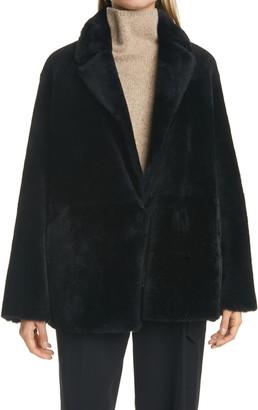 Vince Genuine Shearling Coat