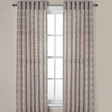 Bed Bath & Beyond Westport Geo Rod Pocket Window Curtain Panels and Valance