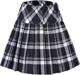 Urban CoCo Women's High Waist Pleated School Tartan Mini Plaid Skirts (M, )