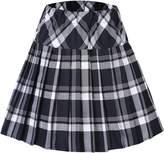 Urban CoCo Women's High Waist Pleated School Tartan Mini Plaid Skirts (XL, )
