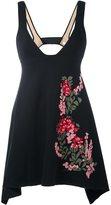 Ssheena - embroidered flower top - women - Cotton - S