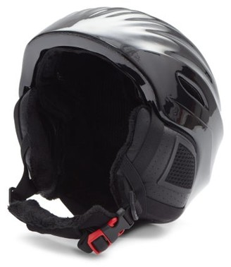 Perfect Moment Mountain Mission Bear-print Ski Helmet - Black Grey