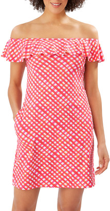 Tommy Bahama Harbour Island Ruffle Spa Dress
