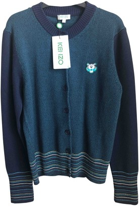Kenzo Green Wool Knitwear for Women