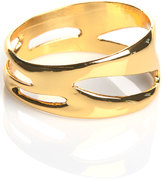 Jessica Elliot Cut Out Bangle in Gold Finish