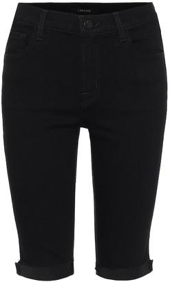 J Brand 881 Mid-Rise Skinny Shorts