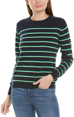 Kule Samara Striped Cashmere Sweater