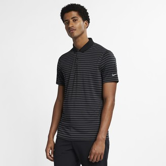 Nike Men's Striped Golf Polo Dri-FIT Victory