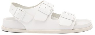 Birkenstock 1774 - Milano Ankle-strap Leather Sandals - Womens - White