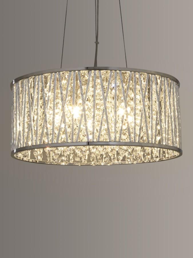 John Lewis & Partners Emilia Large Crystal Ceiling Light