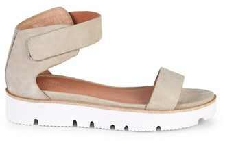 Gentle Souls Lucia Easy Strap Suede Sandals