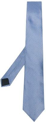 Lanvin Geometric Silk Tie