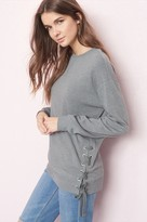 Garage Sweatshirt With Laced Side