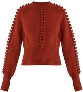 Chloé Pompom-embellished sweater