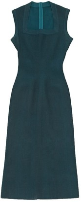 Alaia Green Silk Dresses