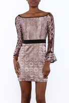 Endless Rose Off Shoulder Lace Dress