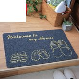 M0028240 Home bedroom door mat/The room door mat/Bathroom ant-slp mats/Ktchen bathroom water absorbent pad