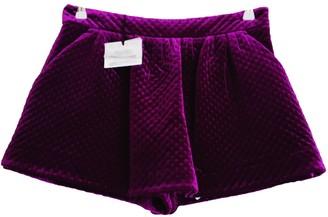 Moschino Purple Skirt for Women