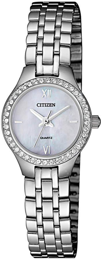 Citizen Ladies Silver Watch EJ6140-57D