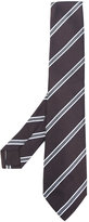 Kiton diagonal stripe tie - men - Silk - One Size