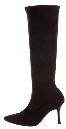 Manolo Blahnik Pascalare Knee-High Boots