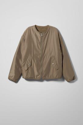Weekday Candace Reversible Jacket - Black