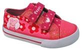Peppa Pig Toddler Girls' Low Top Canvas Sneaker